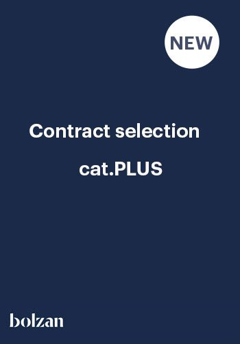 contract selection CAT.PLUS